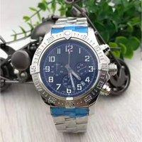 Mens Sport Watch montre de luxe quartz movement chronograph Black Dial Rubber Strap Stainless Folding Clasp Business Watches orologio di lusso