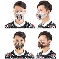 새로운 사이클링 페이스 마스크 야외 스포츠 훈련 마스크 방풍 방진 PM2.5 이동식 실행 활성 탄소 필터 빨 수있는 마스크