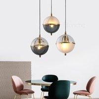 Pendant Lamps Modern Glass Led Art Hanging Lights Creatvie Design Living Room Bedroom Kitchen Nordic Lighting Loft Fixture