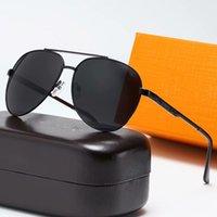 جودة عالية النظارات 10135 نظارات الشمس ماركة نظارات شمسية أزياء رجل نسائي مصمم مكبرة الاستقطاب النظارات الكلاسيكية النظارات المعدنية دا الوحيد