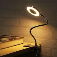 Table Lamps LED Clip Reading Light USB Desk Lamp Adjustable Dimmable For Office Tattoo Beauty