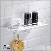 Shees Hardware Bath Home & Gardennordic Punch White Space Aluminum Bathroom Storage Rack Pendant Corner Shelf Toilet Wall Shelfs1 Drop Deliv