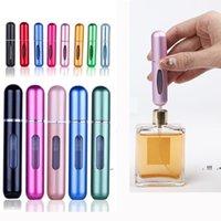 Nouvelle bouteille de pulvérisation cosmétique portable sous-remplissable 6 ml de parfum d'alcool liquide ust-on vide ewf6552