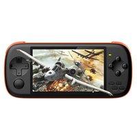 لعبة اللاعبين المحمولة POWKIDDY J6 المحمولة وحدة التحكم 4.3 بوصة IPS عرض جيب MP5 لاعب مدمج في 2000 ألعاب الفئة 16GB بطاقة TF