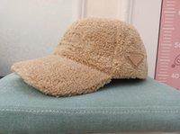 Concepteur mode 21ss beanie baseball casquette d'hiver d'automne femme chapeaux de fourrure de fourrure chaleureuse chapeaux chapeaux