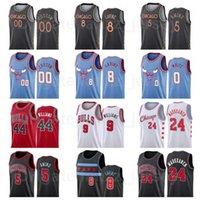 Print Print Basketball Patrick Williams Jersey 44 Zach Lavine 8 Coby White 0 Nikola Vucevic 9 Al-Farouq 5 Home Funity Edition