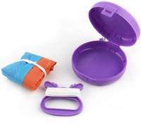 Pollado plegable portátil volando kite kit juguete caja de almacenamiento al aire libre deporte niños regalo multicolor individual pequeño kites gwf5529