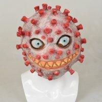 Masquerade Horror Máscara Halloween Rosto Completo Evil Cosplay Props Festa Assustador Festa Propaganda Prop Creepy Cosplay rosto Capa Truque-ou-Tratar Headgear