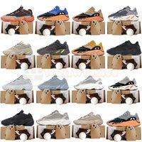 Yeesy Yezzys Yeezys 500 Koşu Ayakkabıları Erkekler Için Taupe Işık Kil Kahverengi Enflame Kanye West 700 V2 Boost Yıkama Turuncu Krem Parlak Mavi Erkek Eğitmenler Bayan Sneakers