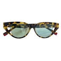 Sunglasses For Men and Women Summer Cat Eye style 40009 Anti-Ultraviolet Retro Plate Plank Special design Full frame fashion Eyeglasses Random Box