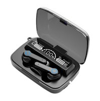 M18 TWS 5.0 Kulaklık 2000 MAH Şarj Kutusu Kablosuz Bluetooth M17 M9 M10 Kulaklık 9D Stereo Spor Su Geçirmez Kulakiçi M12 M19 M15 Gürültü Iptal Kulaklık