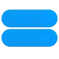 Life Vest & Buoy -Round Self-Adhesive PVC Repair Patches,Vinyl Pool Liner Patch Boat For Inflatable Raft Kayak Canoe (50Pcs)