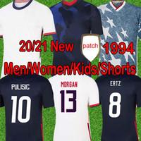 كأس العالم 2020 pulisic لكرة القدم جيرسي إيرتز برادلي لويد ألتيدور 2021 الخشب أمريكا الفانيلة الولايات المتحدة لكرة القدم قميص الرجال الاطفال كيت السراويل