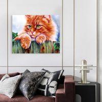 Lienzos enmarcados Lienzos de arte Arte de pared Arte rojo Autumn Paisaje Fotografías de pared para sala de estar listos para colgar 16x20in 45005