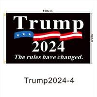 Hot Trump Election 2024 Trump Keep Bandiera 90 * 150 cm America appesa Great Banner 3x5ft Stampa digitale Donald Trump Bandiera in magazzino