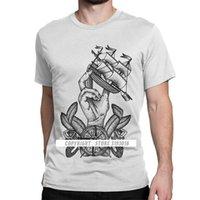 CCCCSPortmen Kapitän des Schiffs Segeln T-shirt Sea Booting Sailor Segelboot Yacht Baumwollkleidung Camisa Tees Plus Size T-Shirt
