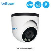 Brillcam 5MP Home Surveillance Motion Detection Camera Outdoor Waterproof Wireless Security CCTV Full Color Night Vision Camera