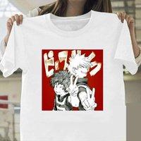 Ve Bayan Benim Kahraman Academia Erkekler Kadınlar Kadınlar için Casual Komik Anime Yong Kız Üst Tee Bırak Gemi