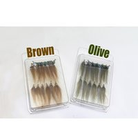 Tigofly 12 Stück Braun Oliven UV Polar Fry Langsam sinken Lachsforellen Steelhead Minnow Fishing Flies Jllflh Ladyshome