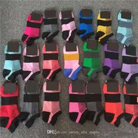 21 Nuovo arrivo Pink Black Socks Quick Dry Cavé Sock Sport Donne Adolescenti Cheerleader Socks Girls Calze con tag
