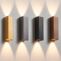 Wall Lamp COB Indoor Lighting LED Modern Home Decoration Sconce Aluminum Bath Corridor Bedside Ligh