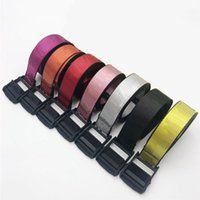 New Belts Men and Women Canvas Waist Adjustable Unisex Strap Long Fashion Belt for Ladies and Men Drop Shipping