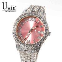 Relógios de Luxo Homens e Mulheres Designer Relógios De Designer capaz de despeje Hommes, Quartz de Luxe, Avec Strass, Rose, Violet, Bleu, Noir, La Mode