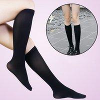Female Uniform Solid Color Half Leg Calf Socks Cute Japanese Tube Socks College Wind Knee Long Tube Student Socks