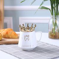Оригинальность Кружки Корона Пейте Простота Любовь Мода Инструменты Керамическая Удобная Прочная Водяная Кубок Женщина Человек Тумблер Подарок 10 2nx K2