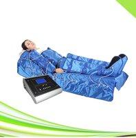 Дальнее инфракрасное оборудование 3 в 1 вакуумной массажной массажной терапии для похудения престерапия воздуха сжатие воздуха массажер для ноги циркулятор крови