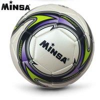 새로운 브랜드 2019 Minsa 공식 표준 축구 공 크기 5 훈련 푸 티볼 축구 공 Futbol 일치 Voetbal Bal