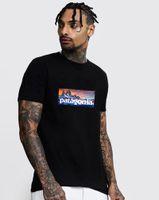 Homens Pata Casual Algodão Esporte T Camisa Urbana Top Qualidade Carta Impressão Masculino T-Shirt Mulheres Colorido Tops Tee