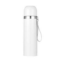 350ml 500ml DIY sublimação em branco Garrafa de água de aço inoxidável aço inoxidável flask de vácuo de vácuo caneca com lanyard dda5876