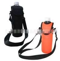 2021 Ice Buckets And Coolers Neoprene Water Cooler Holder With Shoulder Strap Soft Insulated Beverage Beer Bottle Carry Bags
