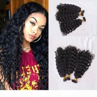 Mongolian Human Hair Bulk No Weft Deep Curly 3 Bundles Hair Bulk For Braiding Can be Dyed FDSHINE