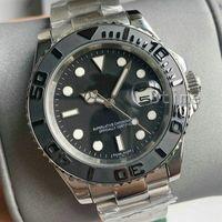 New Mens Assista 2813 Movimento Automático Luxo Aço Inoxidável Moda Mecânica Relógios Homens de Borracha Strap Designer relógios de pulso