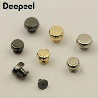 Bag Parts & Accessories Deepeel 10 20pcs 7 10mm Metal Rivet Screw For Bags Hardware Handbag Decorative Studs Button Nail Buckles Snap Hooks