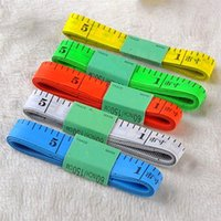 Nützliche Körpermessung Lineal Nähen Schneider Maßband Weich 1,5m Nähen Lineal Meter Nähen Maßband Zufällige Farbe 538 R2