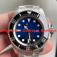 N Üst Versiyon Erkek Saatler 116660 Lüks İzle 2836-3235 Süper Otomatik Mekanik Hareketi 44mm 904L Ince Çelik Kılıf Watchband Su Geçirmez