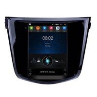 DVD DVD Radio GPS Navigation Android Autoradio-Head-Unité Stéréo Tesla-Style pour 2014 Nissan X-Trail Qashqai