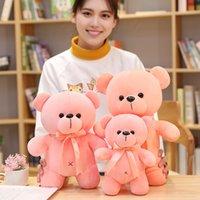 Kolorowe pluszowe zabawki niestandardowe bawełniane stojące Panda Hug Doll Corporate Maskotki