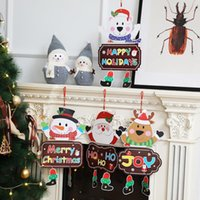 Christmas PaperAccessories Legged Pendant Christmas-Decoration Products Door Hanging Decorative-Pendant Christmas- Ornaments