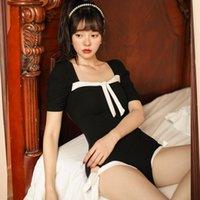 Купальник Женский лето 2021 женский сустав один кусок костюм короткий с длинным рукавом горячие корейские сексуальные ins сплошной полиэстер Сьерра серфер плюс