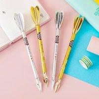 Gel Pens 4pc Kawaii Metal Dart Creative Student 0.5mm Pen Promotion Stationery Office School Supplies Water-based Signature