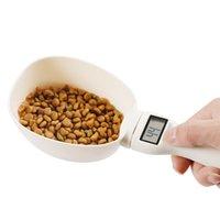 800 g / 1g Pet Food Scale Cup For Dog Cat Karmienie Miska Kuchnia Skala Łyżka Pomiarowa Scoop Cup Portable z wyświetlaczem LED