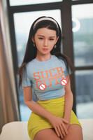 157 cm Implant Saç Silikon Seks Bebek Gerçekçi Büyük Meme Vajina Anüs Yetişkin Aşk Bebek Yaşam Boyutu Japon Gerçek Erkekler Için Gerçek Mastürbasyon Seksi Bebekler