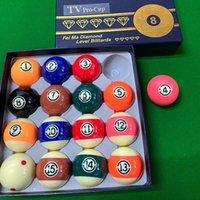 57.2mm Top Quality Durevole Resina Piscina Ball American Billiard Balls Games Games