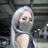 Hallo de lujo de lujo Bling Rhinestone Máscara Halloween para las mujeres Moda Mascarilla Elástica Crystal Decorative Mask Party Envío Gratis