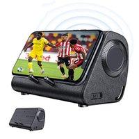 Mini Speakers Bluedio Speaker Wireless Smart Mobile Phone Holder Sound Bar Magnetic Induction TV Music Stereo Loudspeaker With Box