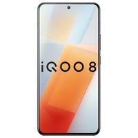 Original Vivo IQOO 8 5G Mobile Phone 8GB RAM 128GB ROM Snapdragon 888 Octa Core 48.0MP AF NFC Android 6.56 inch AMOLED Full Screen Fingerprint ID Face Wake Smart Cellphone